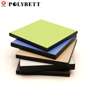 Waterproof 12mm compact laminate hpl solid phenolic resin board