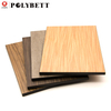 Competitive price 6*12 feet 12mm thick fireproof hpl melamine laminate sheet for kitchen cabinet
