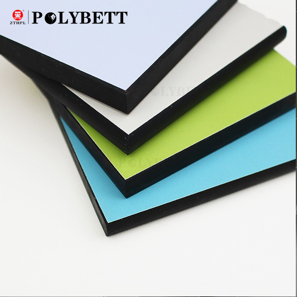 Decorative heat resistant interior colored hpl compact laminate sheets for kitchen