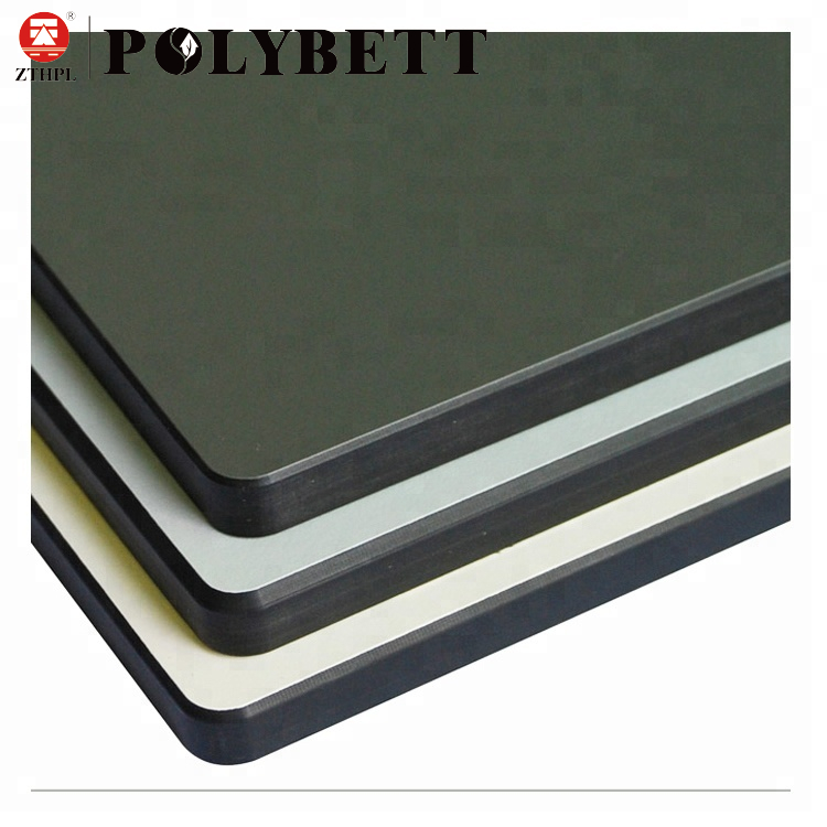 Zhongtian Hot Sale Hpl Phenolic Resin Chemical Resistant Compact Laminate Board