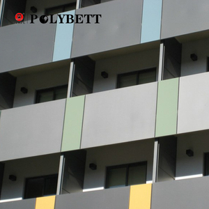 Polybett durable Compact Laminate Hpl Exterior Wall Panels