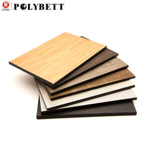 Decorative waterproof fireproof heat resistant double finish hpl high pressure compact phenolic resin laminate board