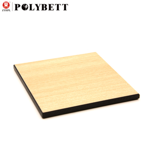 12mm Decorative High Pressure Laminate Compact Laminate Board 100% Phenolic Resin HPL