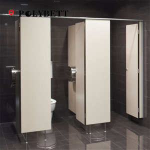 Waterproof Hpl Toilet Cubicle Partition Board